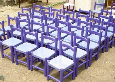 Kindergarten-seats